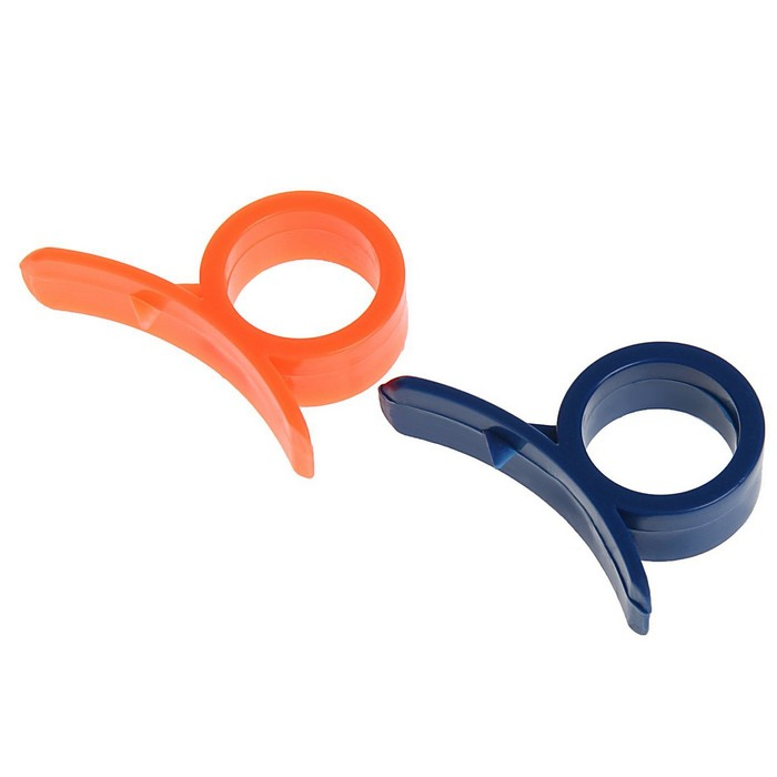 Набор приспособлений для чистки цитрусовых 2 шт 4 см, цвета МИКС