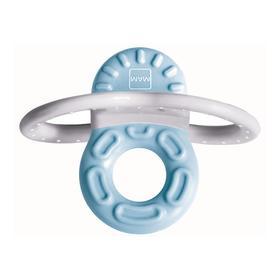 Мини-прорезыватель для передних зубов Bite & Relax Phase 1, цвет голубой, от 2 месяцев