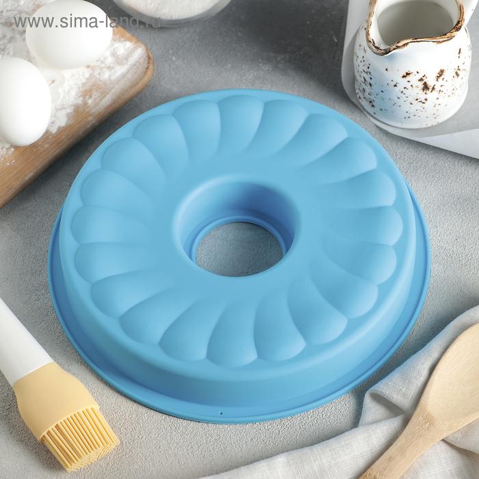 """Baking """"German cake. Donut"""" 23х23х3 cm, MIX color"""