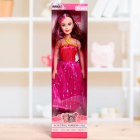 Кукла ростовая «Лида», в платье, высота 41 см