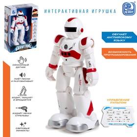 Робот-игрушка радиоуправляемый IQ BOT GRAVITONE, русское озвучивание, цвет красный