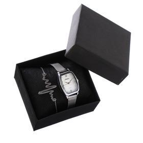 """Подарочный набор 2 в 1 """"Алиф"""": наручные часы, d=2.8 см, кулон"""