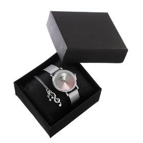"""Подарочный набор 2 в 1 """"Medissa"""": наручные часы, d=3.2 см, кулон"""