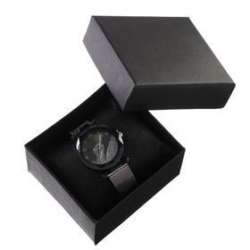 """Подарочный набор 2 в 1 """"Элли"""": наручные часы, d=3.2 см, серьги"""