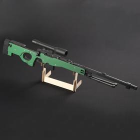 """Резинкострел """"Винтовка AWP"""", окрашенный, автоматический"""