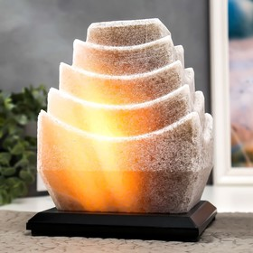 "Соляной светильник с диммером ""Пагода"" 1х15Вт Е14, 4-6 кг, 22х18х16 см"