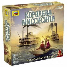 Настольная игра «Королева Миссисипи»