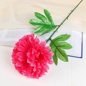 Цветок искусственный 'Розовый пион' Ош