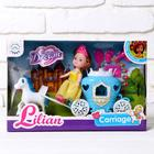 Carriage for dolls, with a doll, MIX