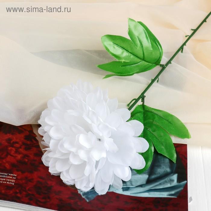 """Цветок искусственный """"Белый пион"""""""