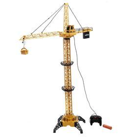 Construction crane, remote control, height 1.28 m.