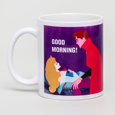Good morning sublimation mug, Princess, 350 ml