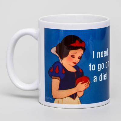 Sublimation mug 5 mins later, Princess, 350 ml