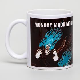 Кружка сублимация Monday mood, Villians, 350 мл