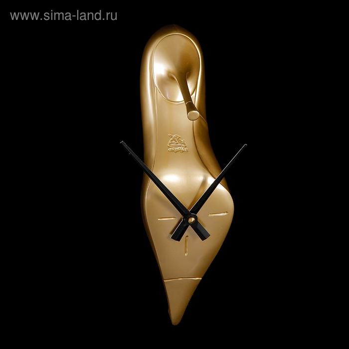 """Часы настенные """"Золотая туфелька"""""""