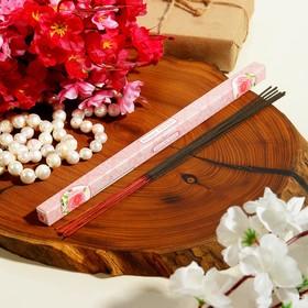 Благовония (9 палочек), аромат роза Ош
