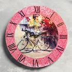"""Wall clock """"French streets"""", d=23.5, smooth running"""
