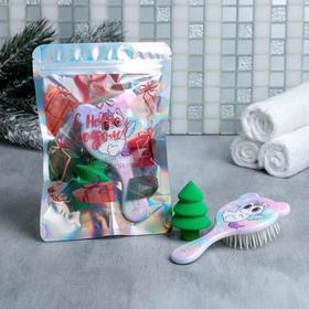 Подарочный набор в голографическом пакете «Радость», 20 х 4 х 14 см