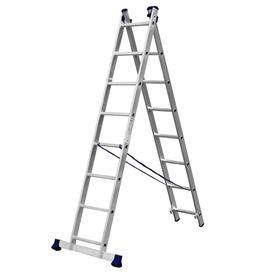 """Лестница """"СИБИН"""" 38823-08, двухсекционная, 8 ступеней"""