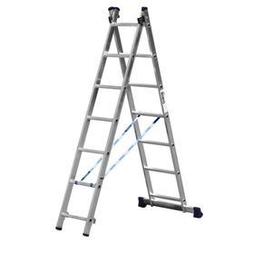"""Лестница """"СИБИН"""" 38823-07, двухсекционная, 7 ступеней"""