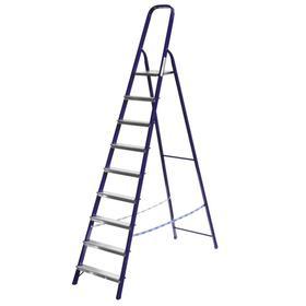 """Лестница-стремянка """"СИБИН"""" 38803-09, стальная, 187 см, 9 ступеней"""