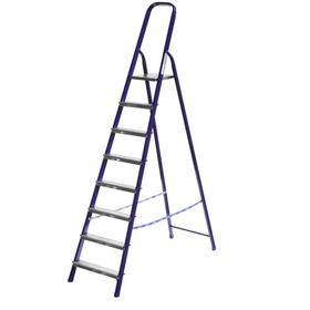 """Лестница-стремянка """"СИБИН"""" 38803-08, стальная, 166 см, 8 ступеней"""