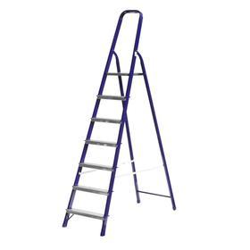 """Лестница-стремянка """"СИБИН"""" 38803-07, стальная, 145 см, 7 ступеней"""