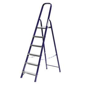"""Лестница-стремянка """"СИБИН"""" 38803-06, стальная, 124 см, 6 ступеней"""