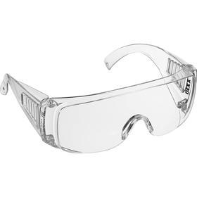Очки защитные DEXX 11050_z01, открытого типа, с боковой вентиляцией, прозрачные
