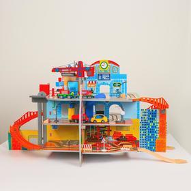 Детский игровой набор «Маленький городок» 71×55×14 см