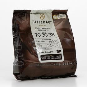 Шоколад тёмный Callebaut горький 70,5% таблетированный, 400 г