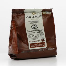 Шоколад молочный Callebaut 33,6% таблетированный, 400 г