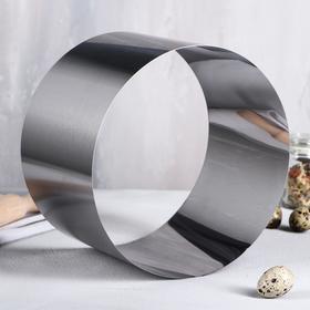 """Форма для выпечки и выкладки """"Круг"""", H-14, D-22 см (1 сорт)"""