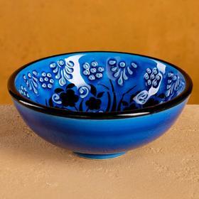 "Large bowl 10 cm "" Turquoise Tulip"""