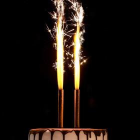 Свеча символ года + 2 фонтана