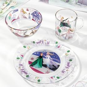 Набор посуды детский Priority «Холодное сердце 2», 3 предмета