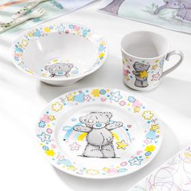 Набор посуды детский Me to You, 3 предмета