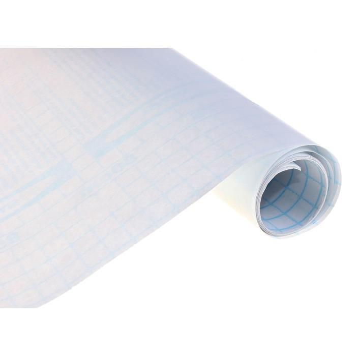 Пленка самоклеящаяся 0,45м х2м 50мкр прозрачная
