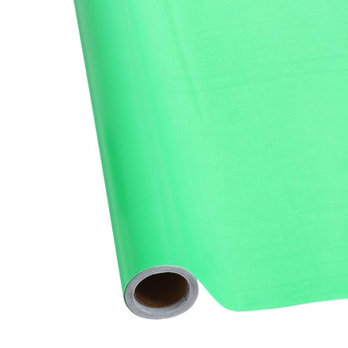 Пленка самоклеящаяся неон зеленая 0,45м х3м 8мкр