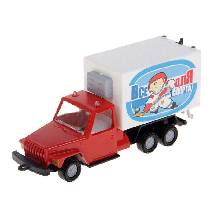 Малый фургон, цвета МИКС