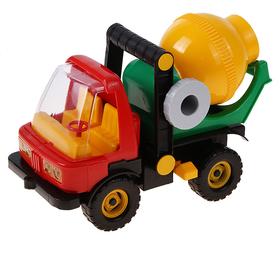 Бетономешалка-автомобиль строительный