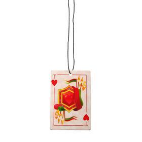 Ароматизатор подвесной картонный 'Freshco Игральные карты Туз Червей' Сакура Ош