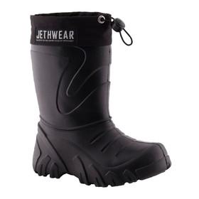 Ботинки детские Jethwear Kids, размер 24-25, чёрный