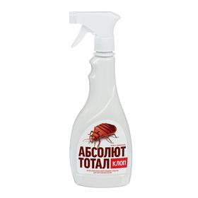 "Средство инсектицидное от клопов ""Абсолют Тотал"", флакон с триггером, 400 мл"
