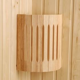 Абажур деревянный, угловой 'Добрыня' Ош
