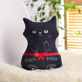 Игрушка антистресс «Поздравительный кот»