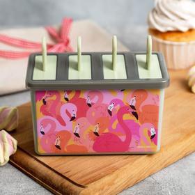 """Формочка для мороженого """"Фламинго"""""""
