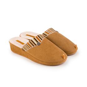 Тапочки женские, цвет коричневый, размер 40