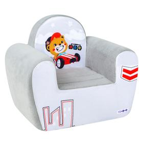 Игрушечное кресло «Гонщик», цвет дрим, стиль 1