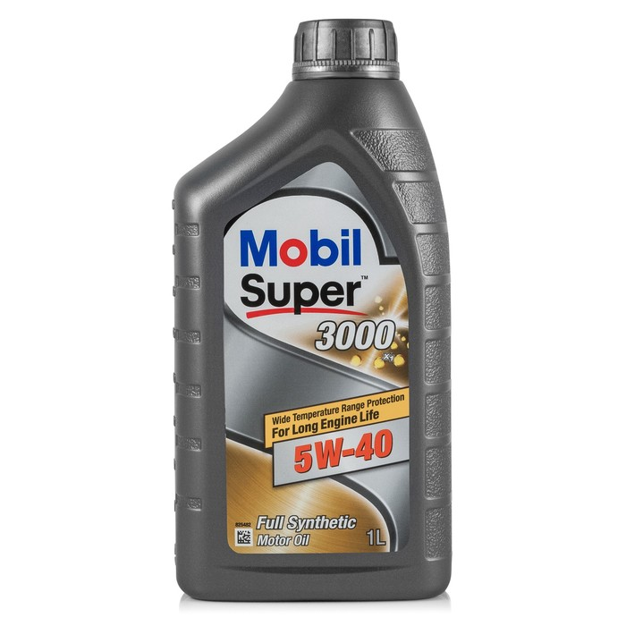 Моторное масло Mobil SUPER 3000 X1 5W-40, канистра 1 л